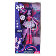 Equestria Girls Twilight Sparkle doll packaging