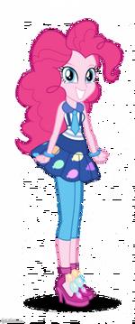 Friendship Games Pinkie Pie School Spirit artwork