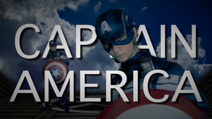 Captain America Title Card