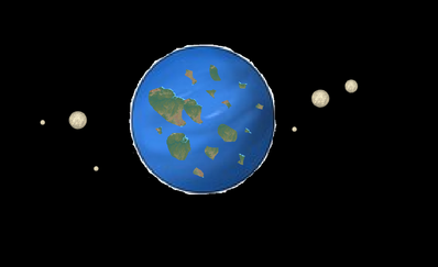 One of the planets