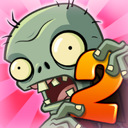 Plants Vs. Zombies™ 2 It's About Time Square Icon (Versions 4.4.1)