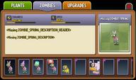 Spring Zombie Almanac