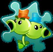 Split Pea Costume Puzzle Piece