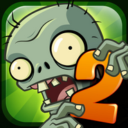 Plants Vs. Zombies™ 2 It's About Time Square Icon (Versions 1.0 to 1.4)