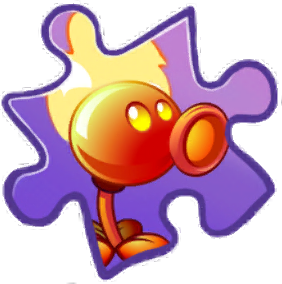 File:Fire Peashooter Puzzle Piece.png