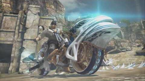 (HD) PS3 Final Fantasy XIII Summon - Shiva - Snow