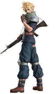 Crisis core Final Fantasy VII Cloud