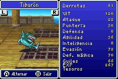 Estadisticas Tiburon
