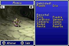 Estadisticas Momia 2