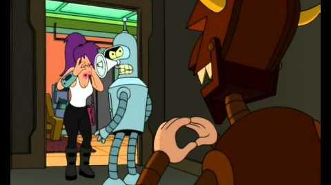Futurama - Bender - no es ironico es perverso