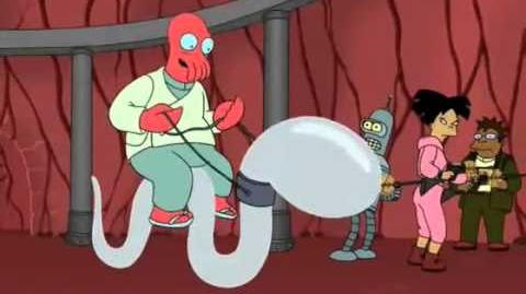 Zoidberg monta un espermatozoide