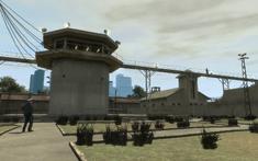 Penitenciaría Alderney Torre de Vigilancia central