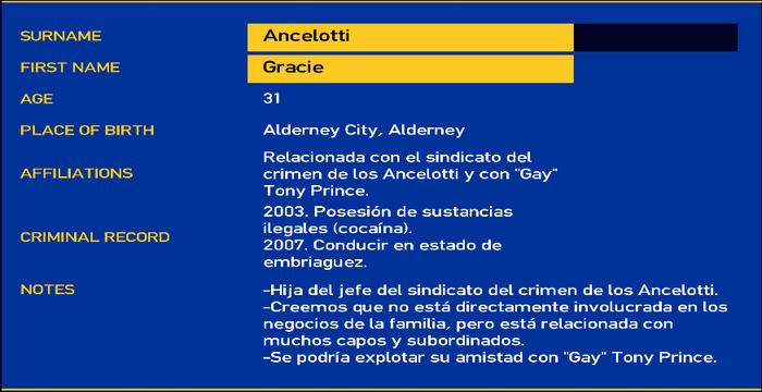 Gracie ancelotti LCPD