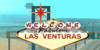 Letrero de Las Venturas