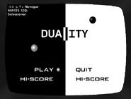 Menú principal del Duality
