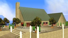 Mansion Leone donde se inicia un plan para aniquilar a Carl Johnson