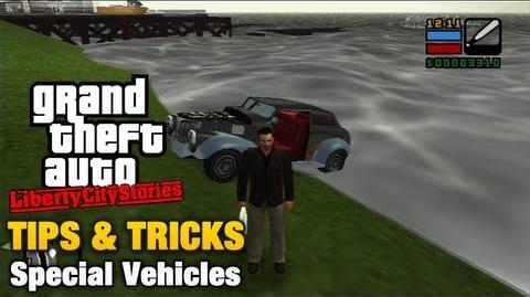 Vehiculos Especiales en Liberty City Stories
