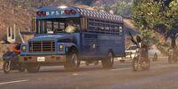 Fuga de prisión - Autobús