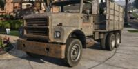 Camión de chatarra