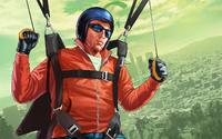 GTA Online Artwork - Paracaidista en Grand Theft Auto Online