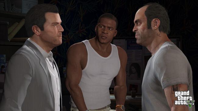Los 3 protagonistas