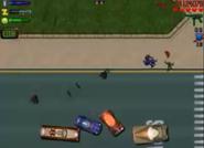 Destruyendo los últimos vehiculos