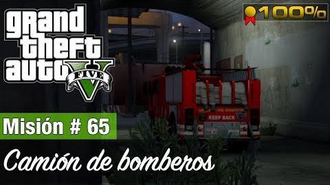 "Grand Theft Auto V - ""Camión de bomberos (Misión)"""