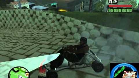GTA San Andreas Encontrando Los 8 Go-Kart