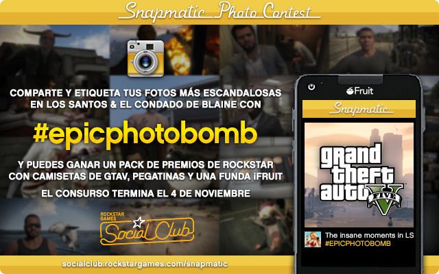 Snapmatic-EpicPhotobomb Noticias