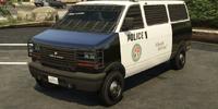Transporte de la policía