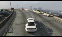 Salto acrobático GTA V - 22m