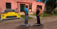 Umberto hablando con Victor