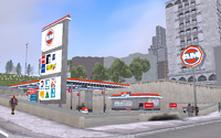 AM Gasolinera GTA III