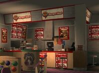 Burger Shot Memory Lanes GTA IV