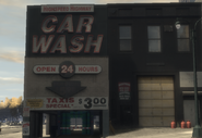 Highspeed highway car wash