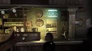 Interior bar irlandes