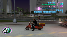 Repartidor de pizzas Vice City