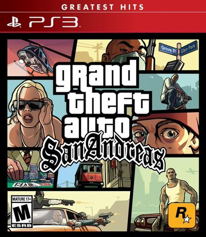 Archivo:Grand Theft Auto San Andreas Remasterizado - Carátula de PlayStation 3.jpg