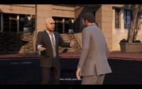 Solomon agradeciendo a Michael