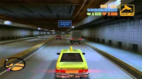 GTA III and LCS Porter Tunnel