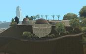 Vista Trasera del Observatorio