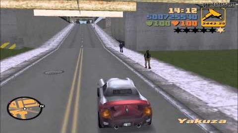 """Grand Theft Auto III - Misión 60 """"Reunión de coches de gangsters""""-0"""
