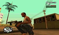 GTA San Andreas Beta Lanzagranadas 2