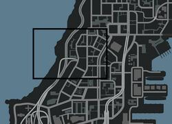 Berchem en el mapa