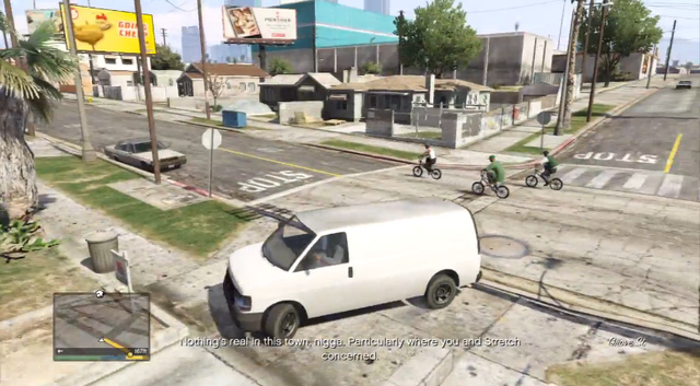 Archivo:GTA V Easter Egg - Referencia a Sweet and Kendl.png