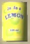 Lata Jo Jo's lemon