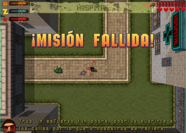 Archivo:Misión fallida GTA 2.png