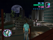 Vice City Beach nocturna