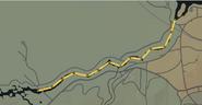 Trayecto CM Raton Canyon