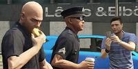 Informe delictivo de la Policía de Los Santos